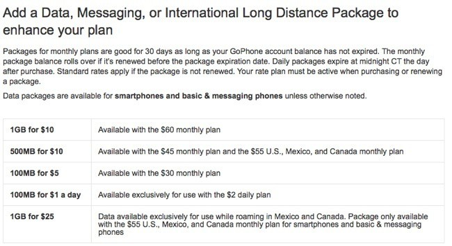 AT&T GoPhone No Deposit, No Activation Fee